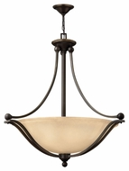 Hinkley 4664OB-LED Bolla Large Transitional Olde Bronze Entryway Pendant Light - 3 Lamps