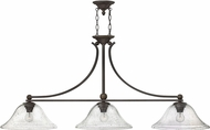 Hinkley 4666OB-CL Bolla Olde Bronze Kitchen Island Light