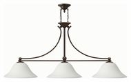 Hinkley 4666OB-OPAL Bolla Olde Bronze Finish 56  Wide Kitchen Island Light