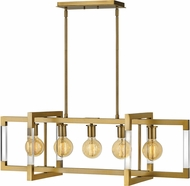 Hinkley 4686LCB Kellen Contemporary Lacquered Brass Kitchen Island Light