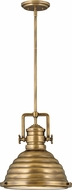 Hinkley 4697HB Keating Retro Heritage Brass Hanging Pendant Lighting