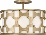 Hinkley 4733BNG Carter Contemporary Burnished Gold Flush Lighting