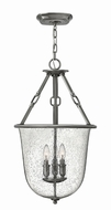 Hinkley 4783PL Dakota Polished Antique Nickel Foyer Lighting