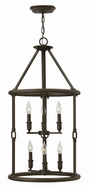 Hinkley 4784OZ Dakota Oil Rubbed Bronze Foyer Light Fixture