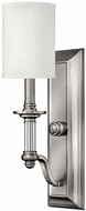 Hinkley 4790BN Sussex Brushed Nickel Wall Lighting Fixture