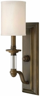 Hinkley 4790EZ Sussex English Bronze Wall Light Sconce