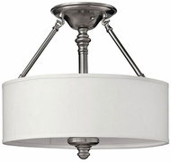 Hinkley 4791BN Sussex Brushed Nickel Overhead Light Fixture