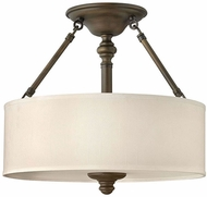 Hinkley 4791EZ Sussex English Bronze Overhead Lighting Fixture