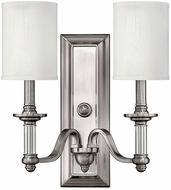 Hinkley 4792BN Sussex Brushed Nickel Wall Sconce Light