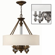 Hinkley 4797 Sussex Four-Lamp Pendant Light