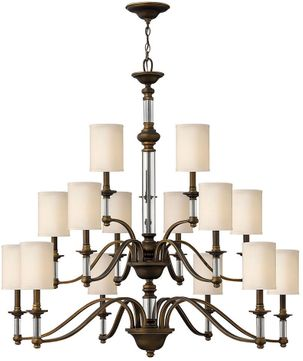 Hinkley 4799EZ Sussex English Bronze Chandelier Light