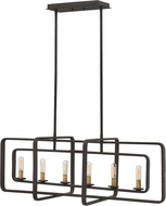 Hinkley 4815KZ Quentin Contemporary Buckeye Bronze Island Light Fixture