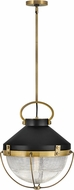 Hinkley 4844HB Crew Retro Heritage Brass Pendant Hanging Light