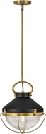 Hinkley 4847HB Crew Retro Heritage Brass Drop Lighting