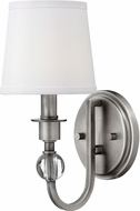 Hinkley 4870AN Morgan Antique Nickel Wall Sconce Light