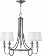 Hinkley 4875AN Morgan Antique Nickel Lighting Chandelier