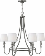 Hinkley 4876AN Morgan Antique Nickel Chandelier Lamp