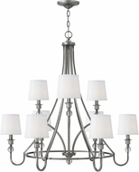 Hinkley 4878AN Morgan Antique Nickel Chandelier Light