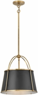 Hinkley 4894WS Clarke Modern Warm Brass Hanging Light