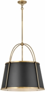 Hinkley 4895WS Clarke Modern Warm Brass Pendant Lighting Fixture