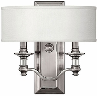 Hinkley 4900BN Sussex Brushed Nickel Wall Lamp