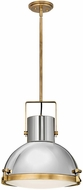 Hinkley 49065HB Nautique Contemporary Heritage Brass Hanging Pendant Lighting