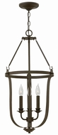 Hinkley 4943TZ Fenmore Textured Bronze Entryway Light Fixture