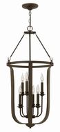 Hinkley 4946TZ Fenmore Textured Bronze Foyer Lighting