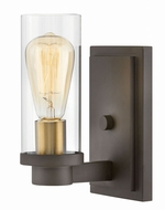 Hinkley 4970OZ Midtown Modern Oil Rubbed Bronze Wall Lighting