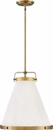Hinkley 4993LCB Lark Contemporary Lacquered Brass 16  Pendant Light Fixture