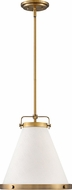 Hinkley 4997LCB Lark Contemporary Lacquered Brass 13.5  Hanging Pendant Lighting