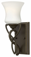 Hinkley 5000OB Brooke Traditional Style Olde Bronze Wall Light Sconce - 11 Inches Tall