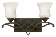 Hinkley 5002OB Brooke 2 Lamp Olde Bronze Traditional Bathroom Light - 16 Inches Wide