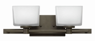 Hinkley 5022KZ Taylor Buckeye Bronze Halogen 2-Light Bathroom Light