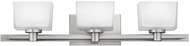 Hinkley 5023BN-LED Taylor Contemporary Brushed Nickel LED 3-Light Vanity Lighting