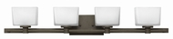 Hinkley 5024KZ Taylor Buckeye Bronze Halogen 4-Light Vanity Lighting