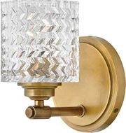Hinkley 5040HB Elle Heritage Brass Wall Sconce