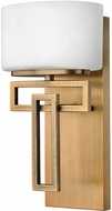 Hinkley 5100BR-LED Lanza Contemporary Brushed Bronze LED Wall Lighting Fixture