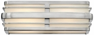 Hinkley 5232BN Winton Contemporary Brushed Nickel LED 15.5  Bathroom Light Sconce