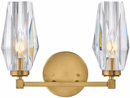 Hinkley 52482HB Ana Modern Heritage Brass LED 2-Light Bath Lighting Fixture