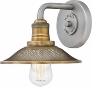 Hinkley 5290AN Rigby Contemporary Antique Nickel Wall Lamp