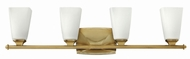 Hinkley 53014BC Darby Brushed Caramel 4-Light Bathroom Wall Sconce