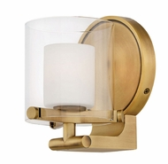Hinkley 5490HB-LL Rixon Contemporary Heritage Brass LED Wall Light Sconce