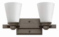 Hinkley 5552KZ Avon Buckeye Bronze 2-Light Bathroom Light Sconce