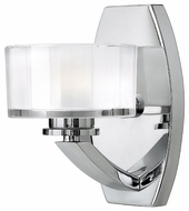 Hinkley 5590CM Meridian 1-Lamp Vanity Light in Chrome