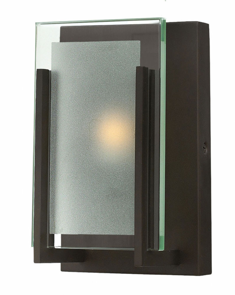 Hinkley 5650OZ Latitude Modern Oil Rubbed Bronze Wall Sconce Loading Zoom