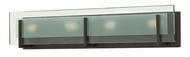 Hinkley 5654OZ Latitude Contemporary Oil Rubbed Bronze 4-Light Bathroom Vanity Lighting