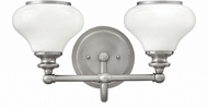 Hinkley 56552BN Ainsley Brushed Nickel 2-Light Bathroom Vanity Light
