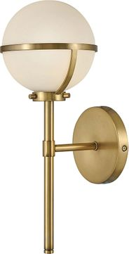 Hinkley 5660HB-LL Hollis Heritage Brass LED Light Sconce