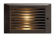 Hinkley 58015BZ-LED Step & Brick 120V LED Step Light in Bronze